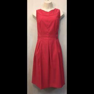 Kim Rogers pink fit & flare dress